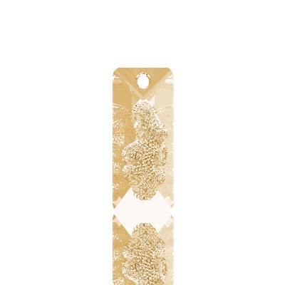 SWAROVSKI Growing Crystal 26mm Golden Shadow
