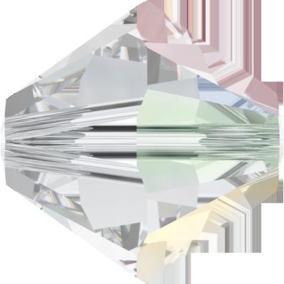 Swarovski Beads 5328 8mm XILION Bicone Crystal AB