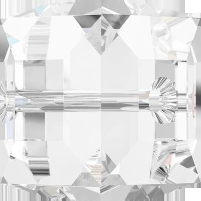 Swarovski kralen 12mm kristal blokje kleurnummer 0004