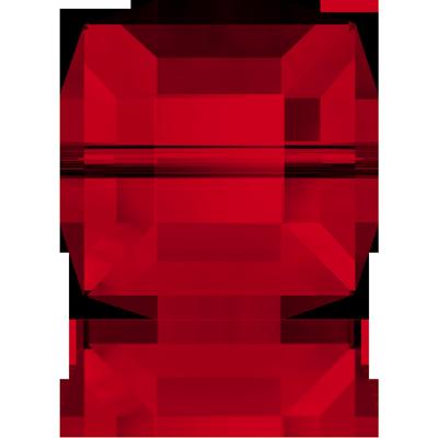 Swarovski Cube Beads 5601 Siam 8mm