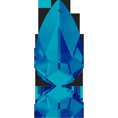 Swarovski elegant pendant 24mm Crystal Bermuda Blue