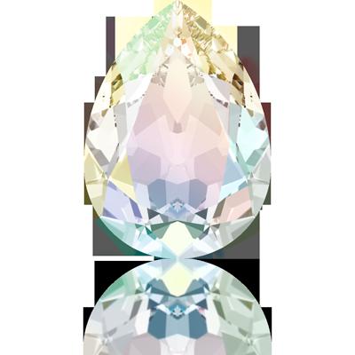 Swarovski fancy stones 10mm crystal ab druppel