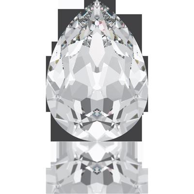 Swarovski fancy stones 10mm crystal druppel