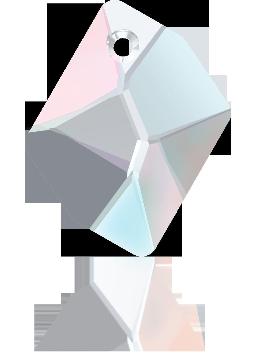Swarovski hangers 40mm kristal ruit kleurnummer 0004