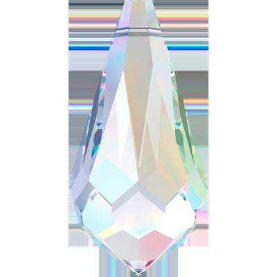 Swarovski Pendant 6000 11MM crystal ab 001