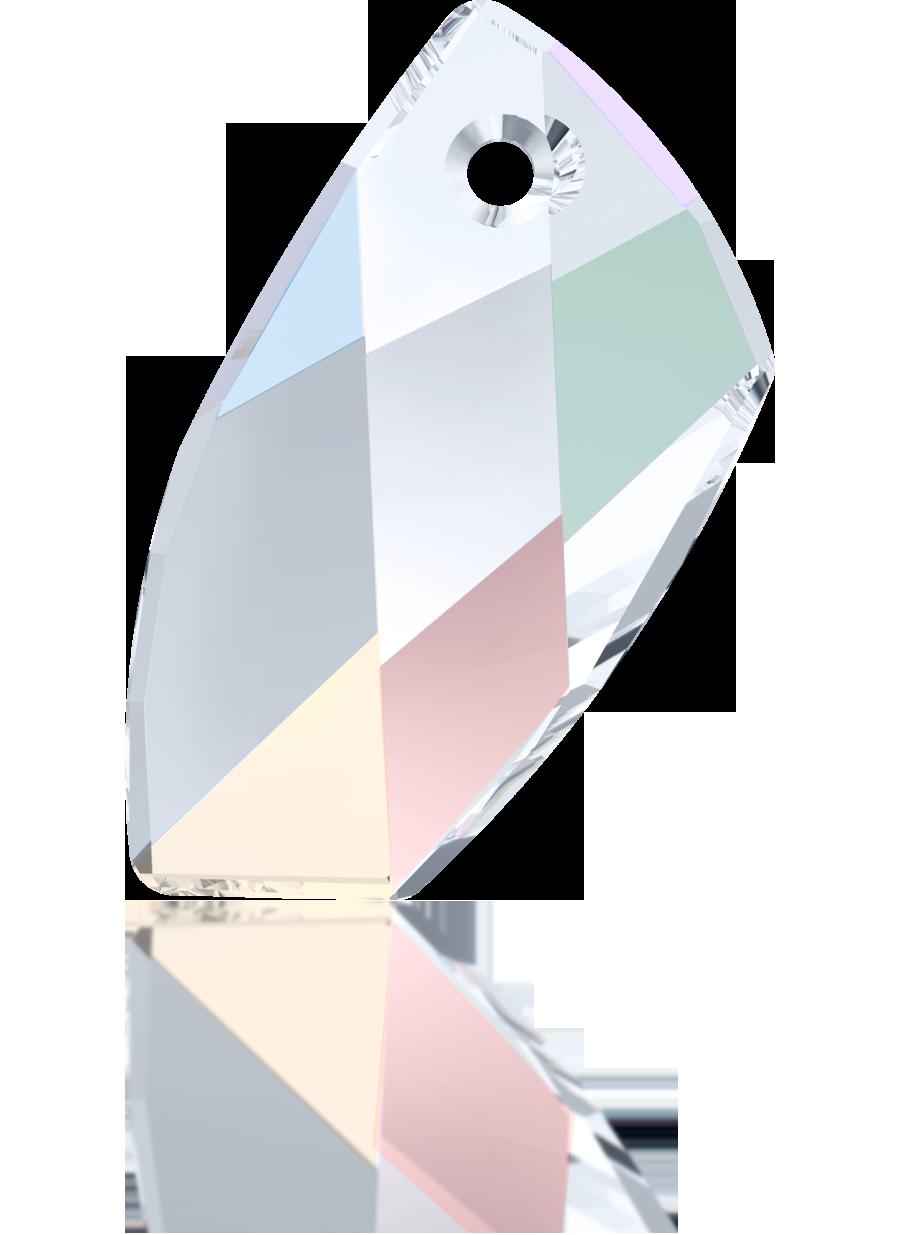 Swarovski grootgats 20mm kristal ruit