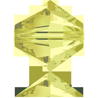Swarovski XILION Beads 5328 konische kralen 3mm Jonquil