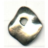 tinhangers 16mm oudzilver vierkant tin