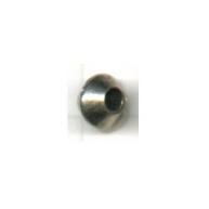 tinkralen 6mm oudzilver konisch