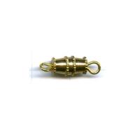 tonsluitingen 16mm goud cilinder