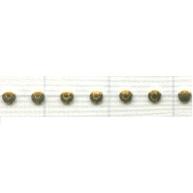 Swarovski Transfers 2mm goud - metaal kleurnummer 91