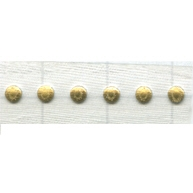 Swarovski Transfers 25mm goud - metaal kleurnummer 81
