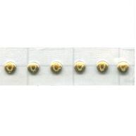 Swarovski Transfers 25mm goud - metaal