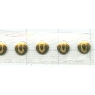 Swarovski Transfers 4mm goud - metaal kleurnummer 91
