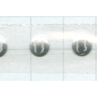 Swarovski Transfers 6mm zilver - metaal