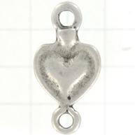 tussenzetsel 30mm matzilver hart