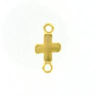tussenzetsels 27mm goud kruis