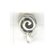 tussenzetsels 9mm oudzilver rond tin