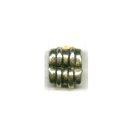 tussenzetsels 9mm oudzilver