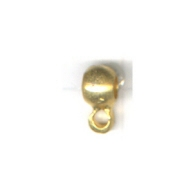 tussenzetsels 4mm goud rond tin