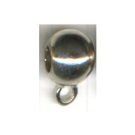 tussenzetsels 9mm zilver rond tin