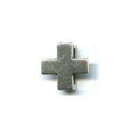 schuiver 18mm oudzilver kruis