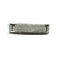 schuiver 35mm oudzilver vierkant tin