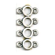 verdelers 34mm zilver rij metaal