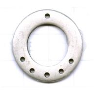 verdelers 28mm zilver rond metaal