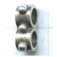 verdelers 5mm oudzilver rij tin